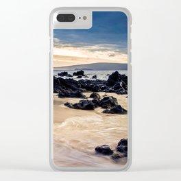 Keawakapu Kahaulani Aloha Wailea Clear iPhone Case
