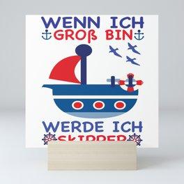 Skipper Mini Art Print