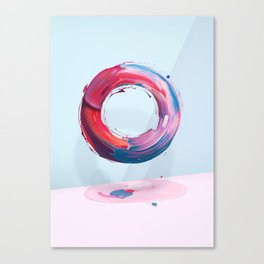 Atypical o Canvas Print