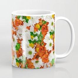 Rusty Cloudy Daisies Coffee Mug
