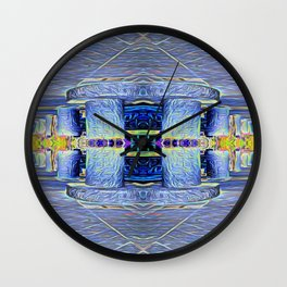 The Two Pillars Wall Clock