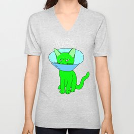 """Heckin Angry Lampshade"", by Brock Springstead Unisex V-Neck"