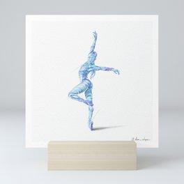 Twist Mini Art Print