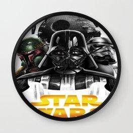 dark side Wall Clock