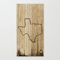 texas Canvas Prints featuring Texas by Travis Weerts