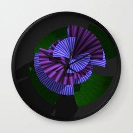 NIGHTBLOOM Wall Clock