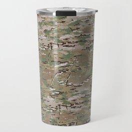 Brown Hunting Camo Pattern Travel Mug