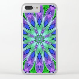Oribus Mandala Clear iPhone Case