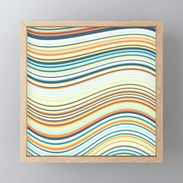 Calm Summer Sea 2 Framed Mini Art Print