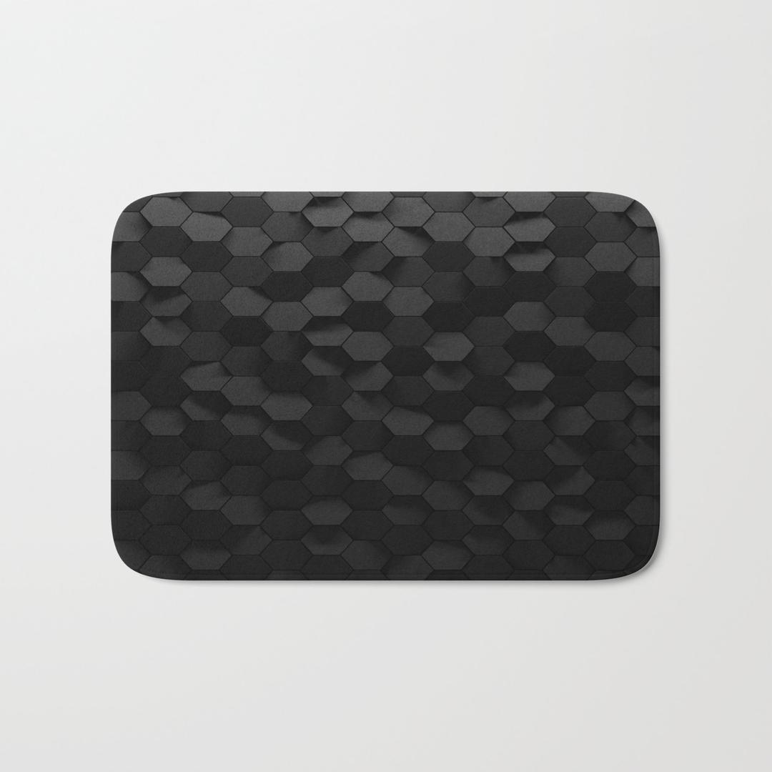 Black bathroom mats - Black Bathroom Mats 23