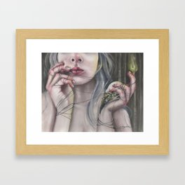 Burning Renewal Framed Art Print