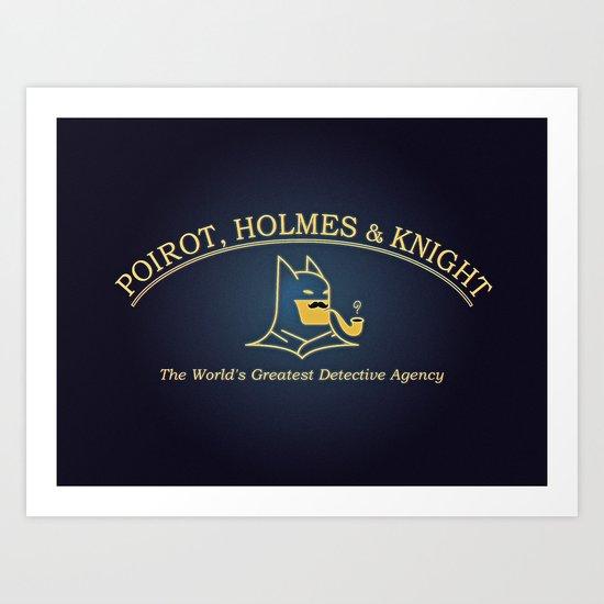 Great Detectives Art Print