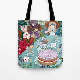 Time For Tea Tote Bag