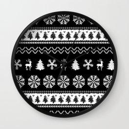 Ugly Christmas Sweater Wall Clock