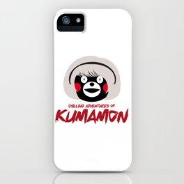 Chilling Adventures of Kumamon iPhone Case