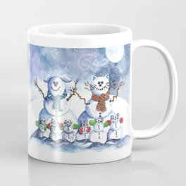 It's Snowing Cats and Dogs (and Mice too) Coffee Mug