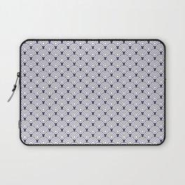 Seigaiha waves | Circle pattern Laptop Sleeve