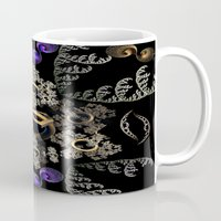 lord of the rings Mugs featuring Lord of the Rings (3) by Brian Raggatt