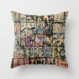 Dan Pyne Throw Pillow