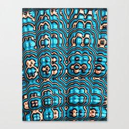 Bits and Blobs - Fractal Art Canvas Print