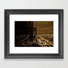 Skydeck IV Framed Art Print
