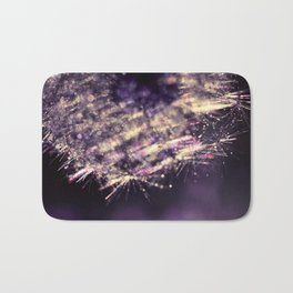 dandelion purple III Bath Mat