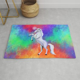 Unicorn Rainbow Dreams Rug