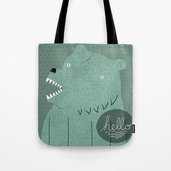 Friendly Bear Tote Bag