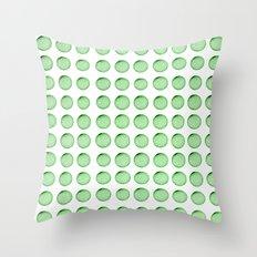 Little Balls (of various sizes) Throw Pillow