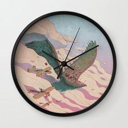 The ancient eagle Wall Clock