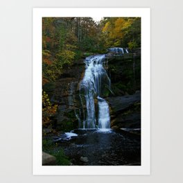 BALD RIVER FALLS  Art Print
