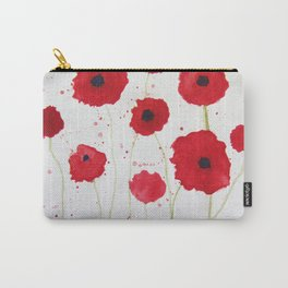 Poppies II Carry-All Pouch