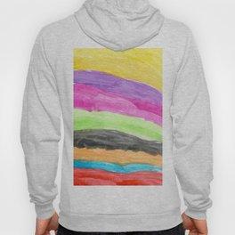 Waves Watercolor Hoody