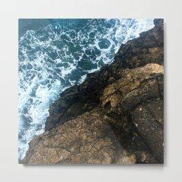 Sea Meets Land Metal Print