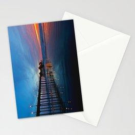 Huntington Beach Pier Sunset (North Side) 11/18/13 Stationery Cards