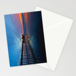 Huntington Beach Pier Sunset (North Side) 11/18/13 Stationery Cards