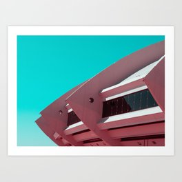 Surreal Montreal 1 Art Print