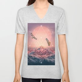Find the Strength To Rise Up Unisex V-Neck