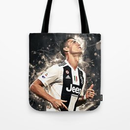 CR7 To Juve Tote Bag