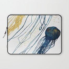 Metallic Jellyfish II Laptop Sleeve