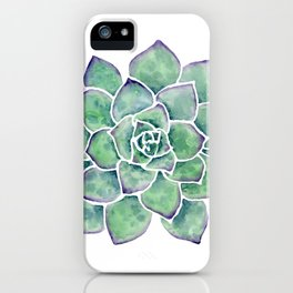 For the Love of Succulents iPhone Case