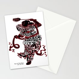 Chinese zodiac sign, Year of the Boar Stationery Cards