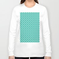 turquoise Long Sleeve T-shirts featuring Turquoise  by EVNF