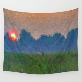 Morning Meadow Wall Tapestry