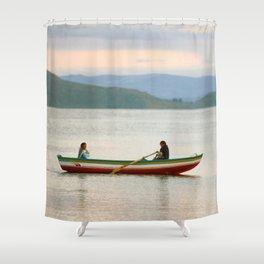 Titicaca 5 Shower Curtain