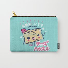 Cheesy Hustle Carry-All Pouch
