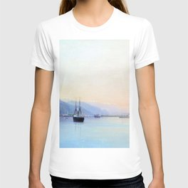 A Bay 1880 By Lev Lagorio | Reproduction | Russian Romanticism Painter T-shirt