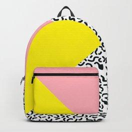 Memphis pattern 28 Backpack