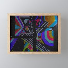 Pastel Series Nebulae Framed Mini Art Print