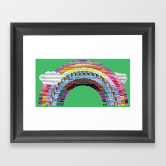 glitchbow Framed Art Print